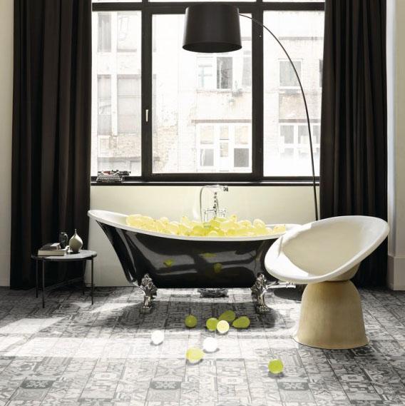 soyez dans la tendance r tro en adoptant les carreaux de ciment. Black Bedroom Furniture Sets. Home Design Ideas