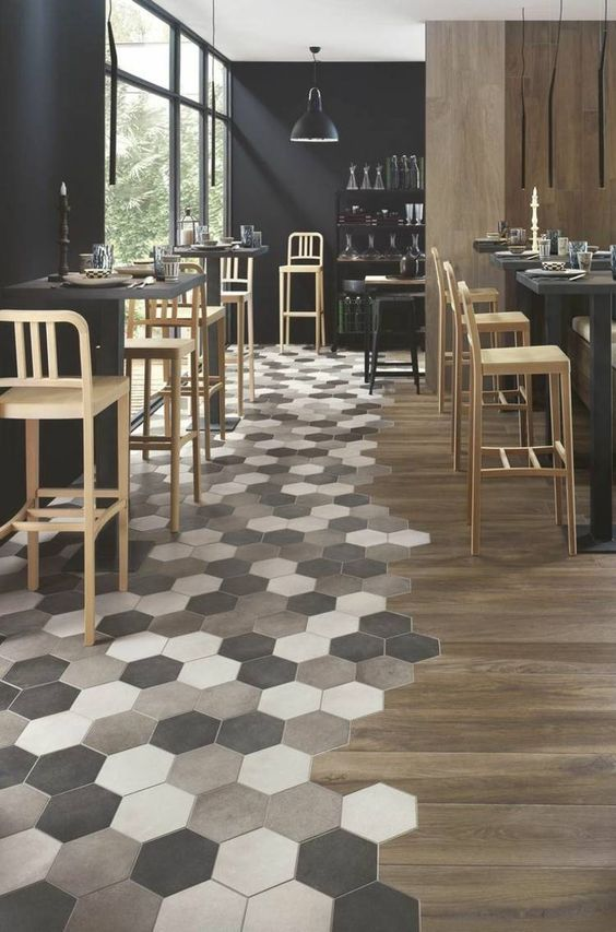 Parquet Mosaique Et Ambiance Moderne Interesting Quels Revtements